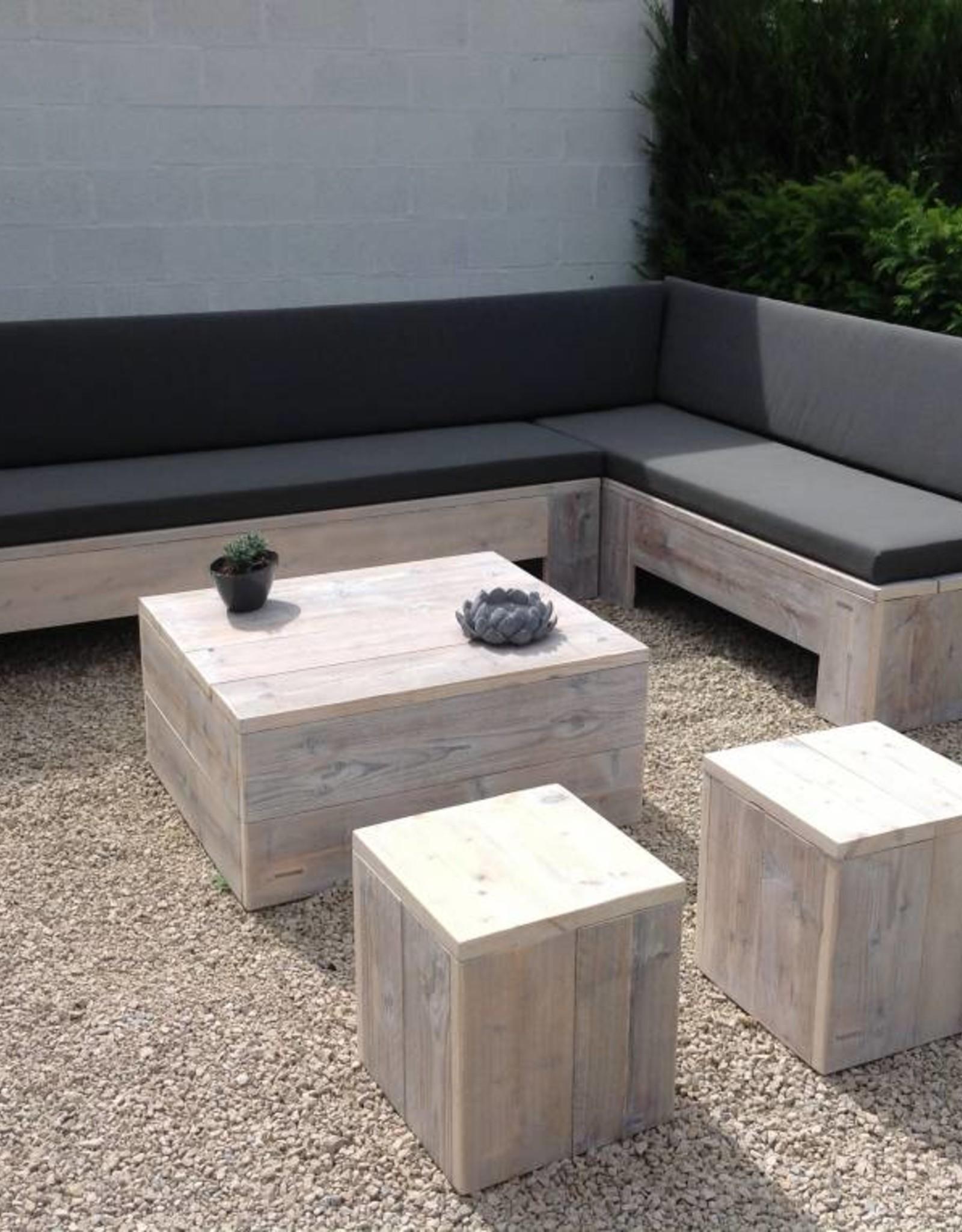 Thinkstyle Loungebank Liesbet - gebruikt steigerhout