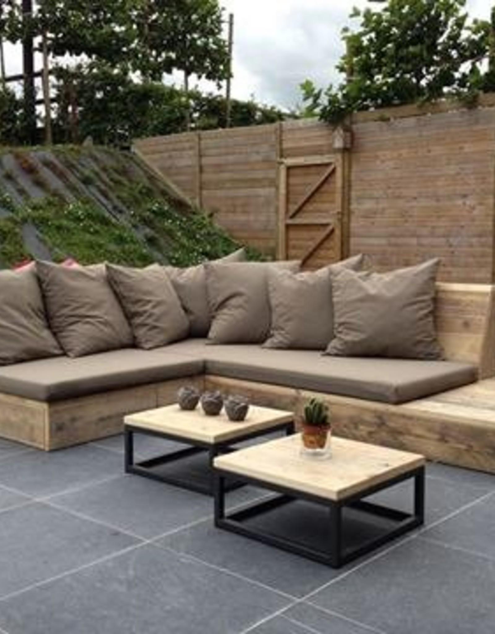 Thinkstyle Loungebank Isabelle hoekbank - gebruikt steigerhout