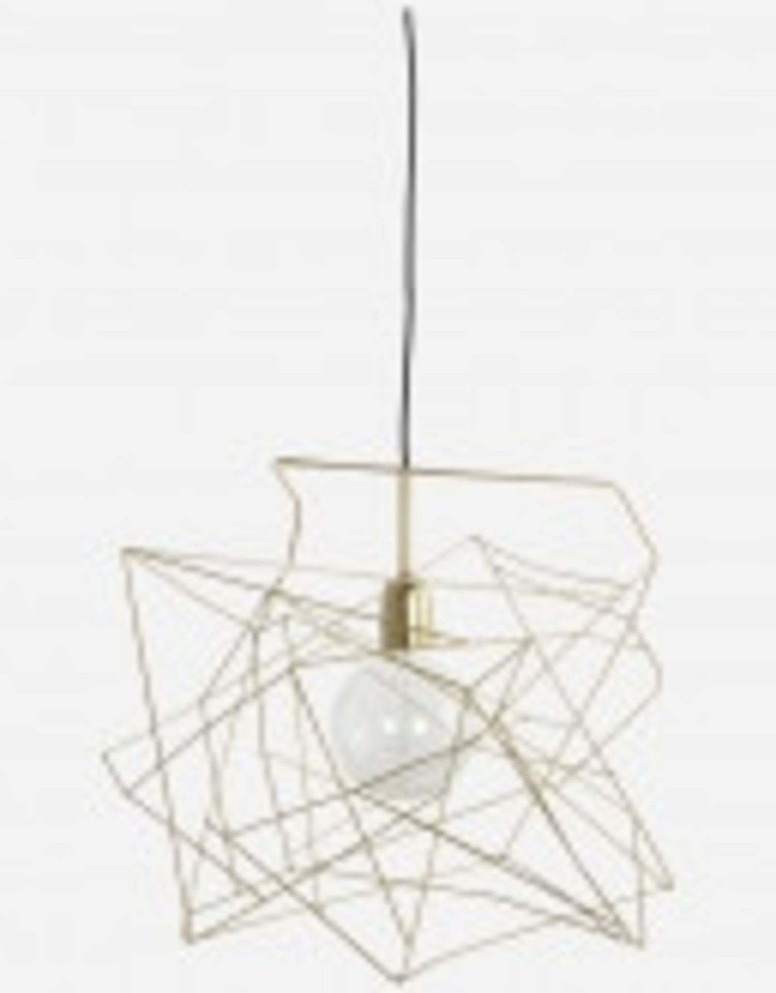 House Doctor House Doctor- Lampshade assymetric gold