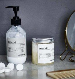 Meraki Salt scrub, Silky mist, 250 ml