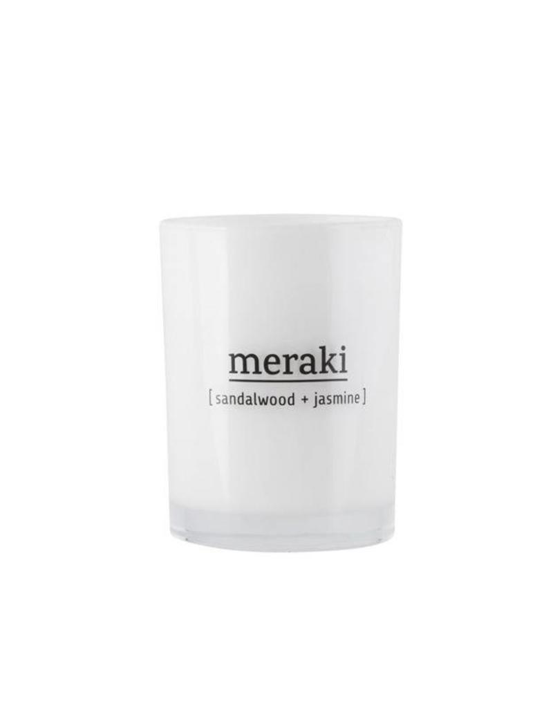 Meraki Meraki - scented candle Sandalwood & Jasmine