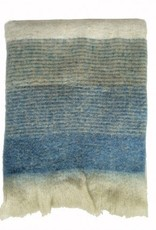 Malagoon Malagoon - Indigo mohair throw