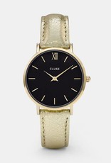Cluse Cluse - Minuit leather Gold Black/Gold Metallic