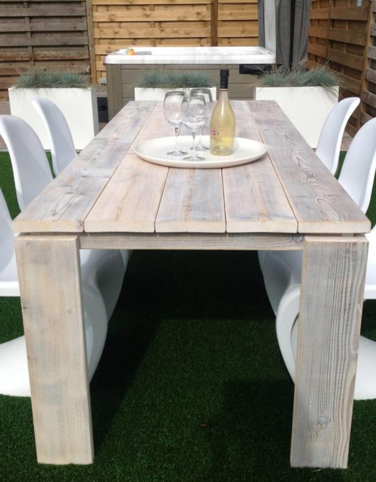 Thinkstyle Nicola tafel - gebruikt steigerhout