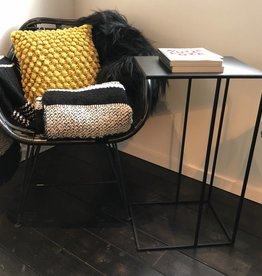 Sofa Dome- black butler tray