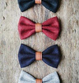 Gentlemen's hardware Bow tie Navy