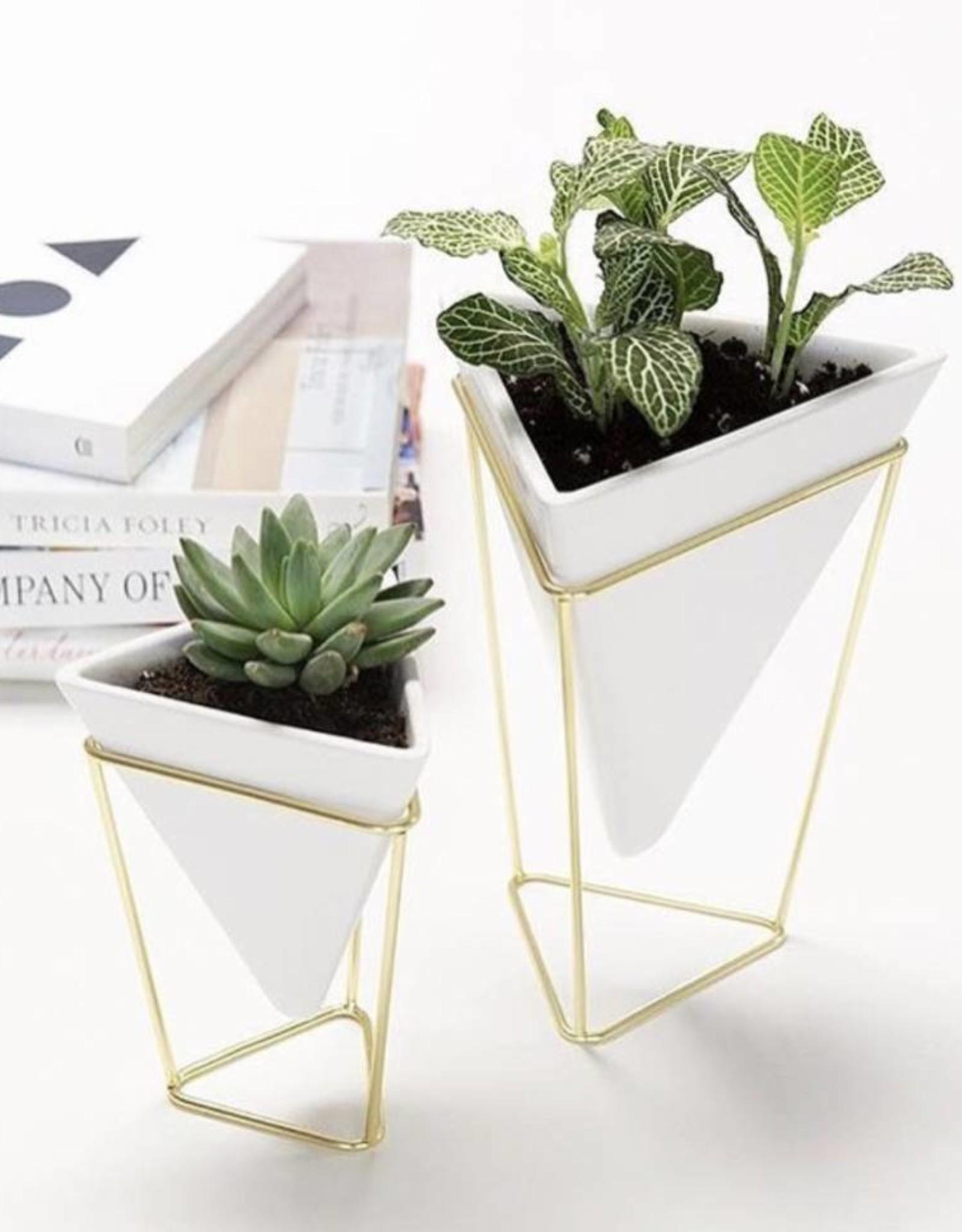 Umbra Umbra - Trigg desk set white - brass