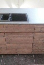 Thinkstyle Keuken - eiland steigerhout met mortex - niet bestelbaar via webshop