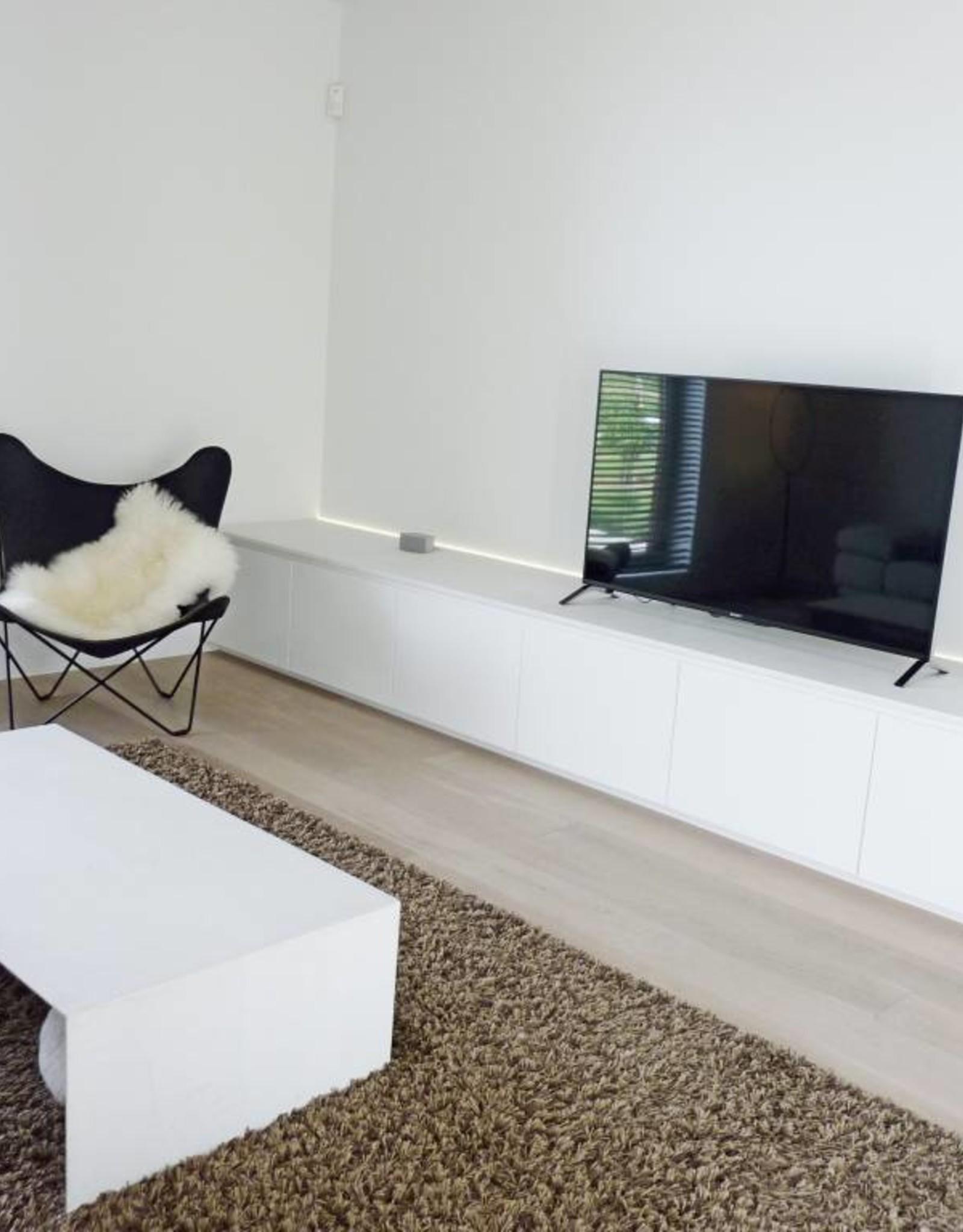 Thinkstyle tv-meubel wit afgelakt met mortex - niet bestelbaar via webshop