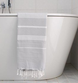 Ottomania Ottomania- Hammam towel light grey white