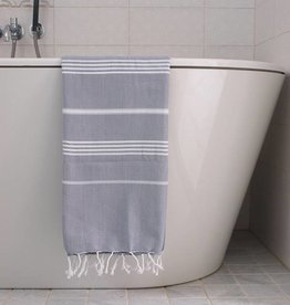 Ottomania Ottomania- Hammam towel grey white