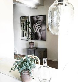 House Doctor -Lamp shade coal clear