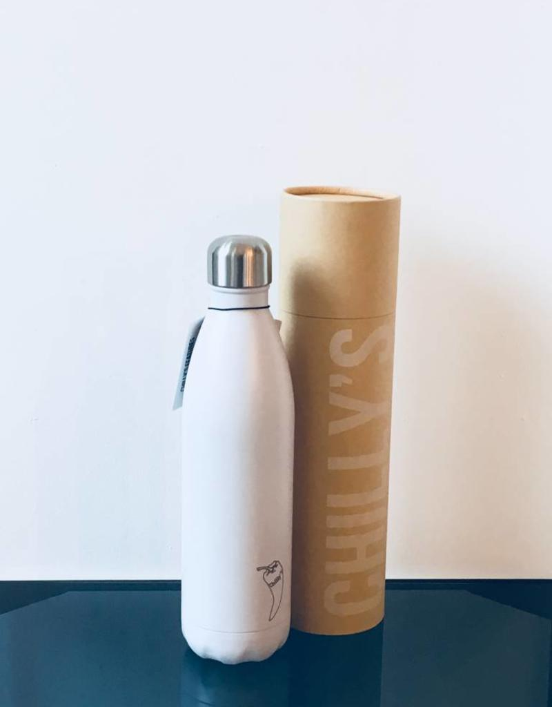 Chilly's Chilly bottle - 750ml white matte