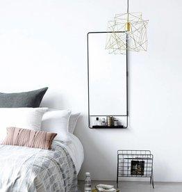 House Doctor Mirror w/ shelf