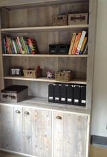 Thinkstyle Boekenkast model Eva - gebruikt steigerhout