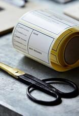 Monograph- scissors large handles