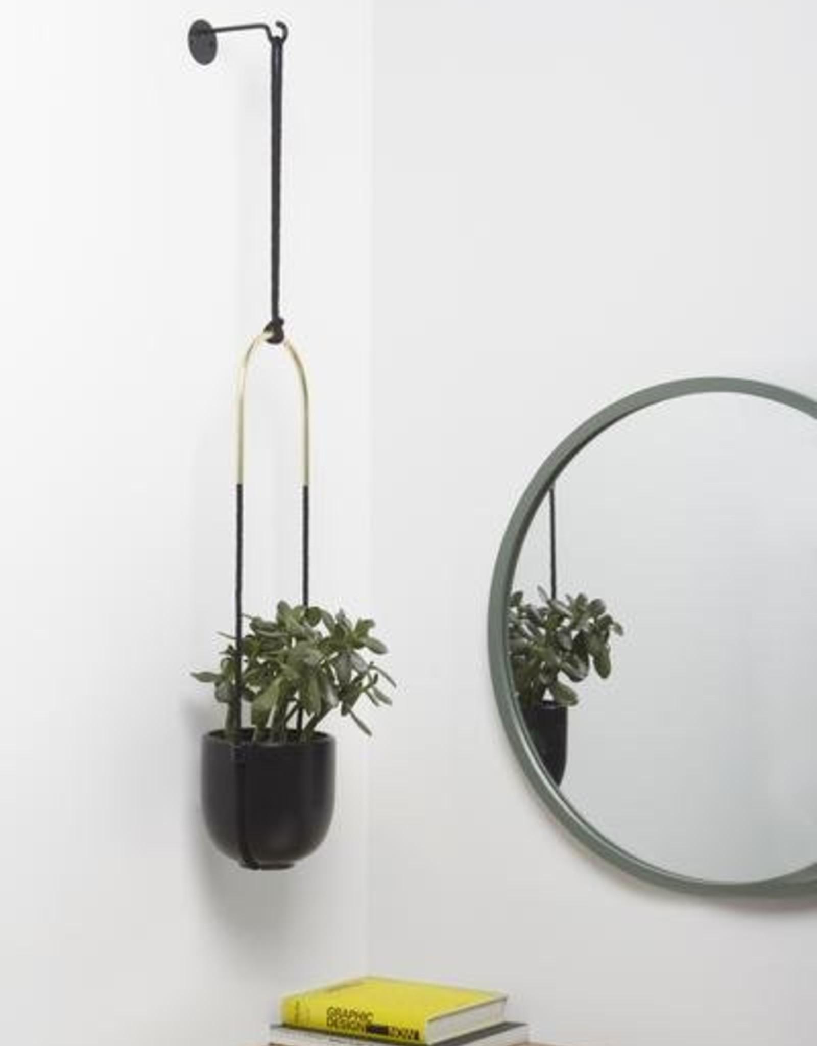 Umbra Umbra- Prisma Bolo planter black