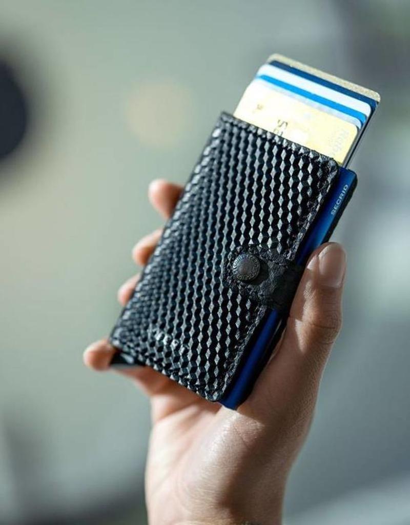 Secrid Secrid - Miniwallet - Cubic Black-Blue