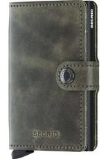 Secrid Secrid - Miniwallet - Vintage olive black