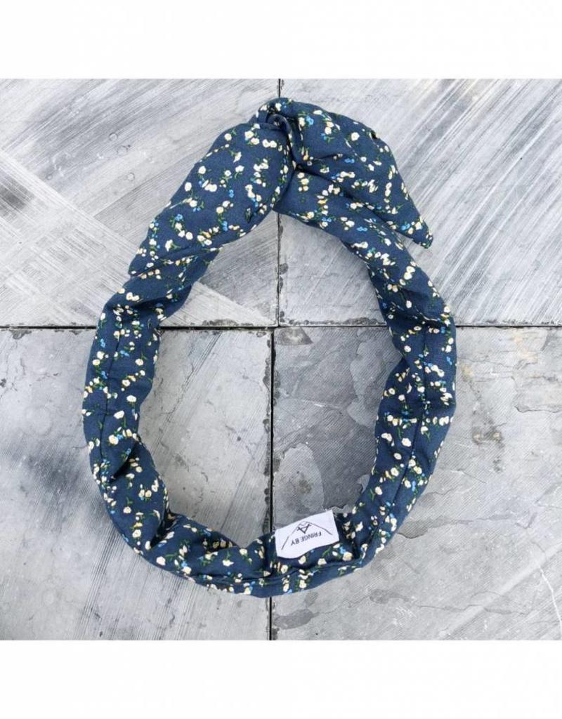 Fringe by A Fringe by A - Flora - Blauw met kleine gele bloemetjes