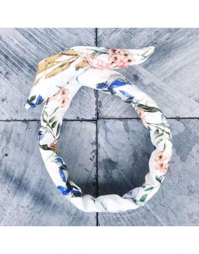 Fringe by A Fringe by A - Darcia - wit groen bloem