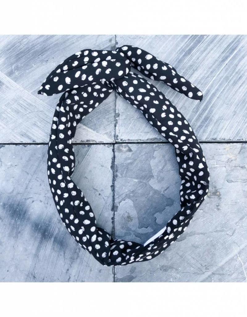 Fringe by A Fringe by A - Guilia - Zwart witte bolletjes