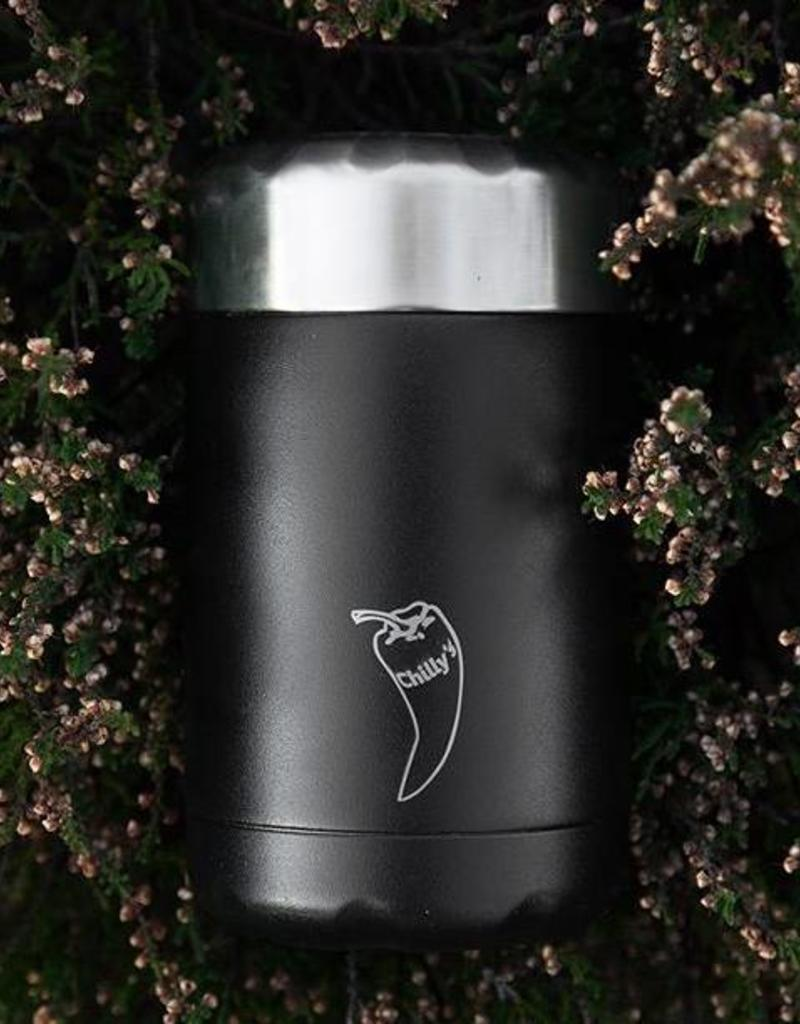 Chilly's Chilly bottle - Food pot 300 ml - Black