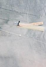 Birambi Birambi - Bracelet - circle - zilver