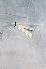 Birambi Birambi - Bracelet - geometric bird -  zilver