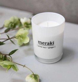Meraki Meraki - scented candle white tea & ginger