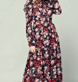 Linú Fashion - Linú - Red  floral - S