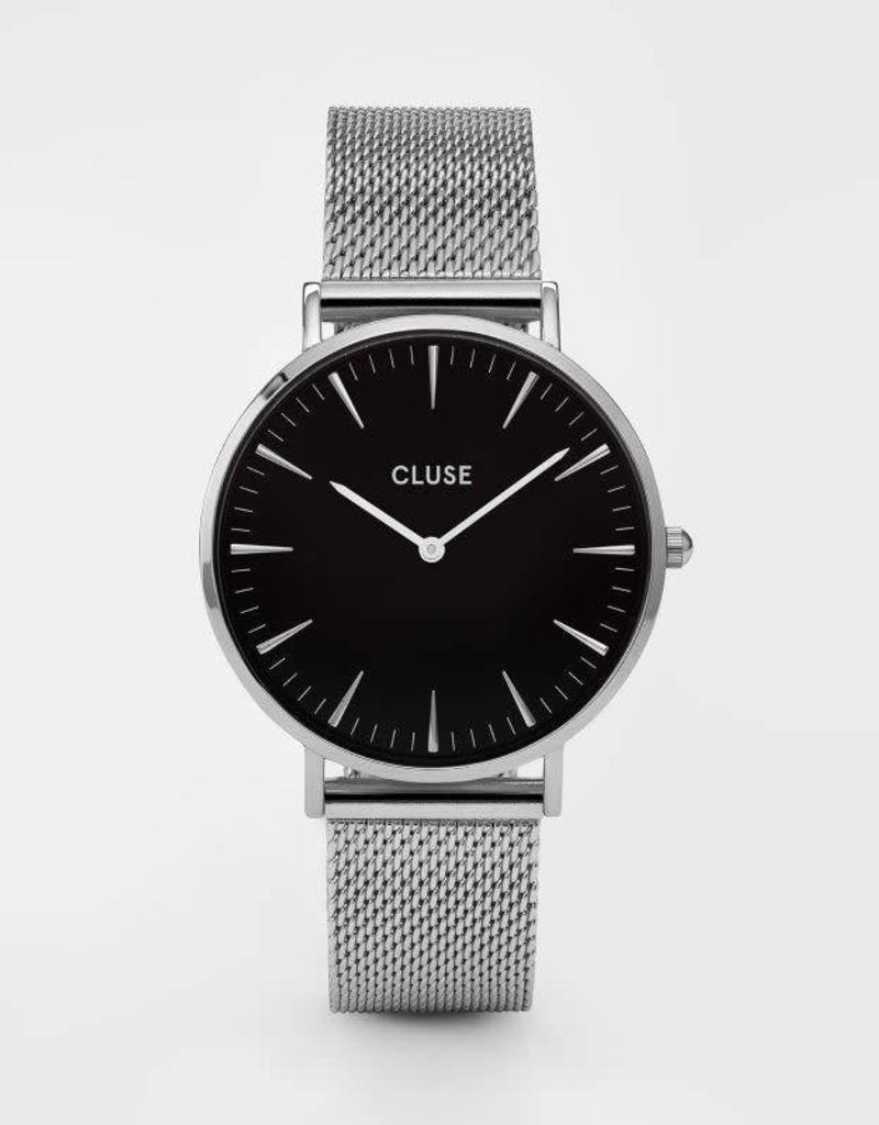 Cluse Cluse - La Bohème Mesh Silver/Black