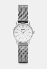 Cluse - La Vedette Mesh silver/white