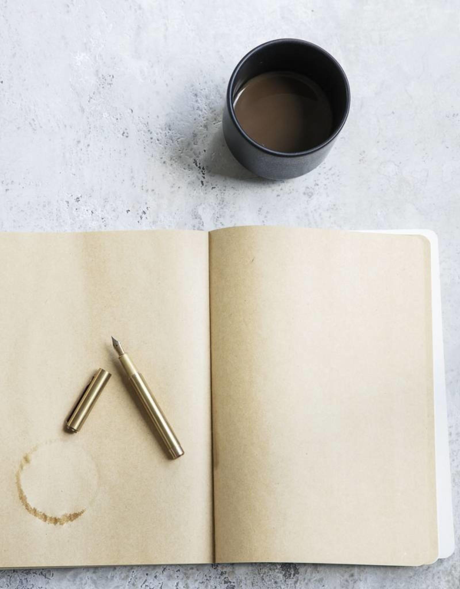 Monograph Monograph - Fountain pen w.black / brass