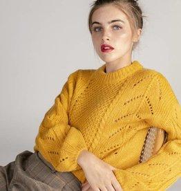Grace & Mila Grace & Mila - Sweater Ricola Moutarde