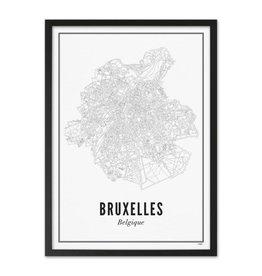 Wijck Wijck - prints - 21x30 - Bruxelles