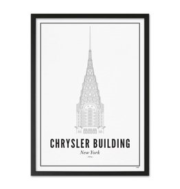 Wijck Wijck - prints - 30x40 - New York Chrysler building