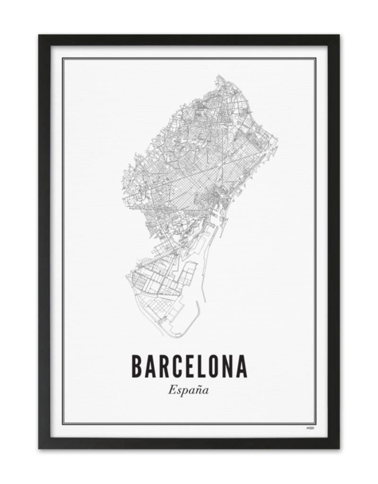 Wijck Wijck - prints - 30x40 - Barcelona city