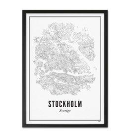Wijck Wijck - prints - 30x40 - Stockholm city