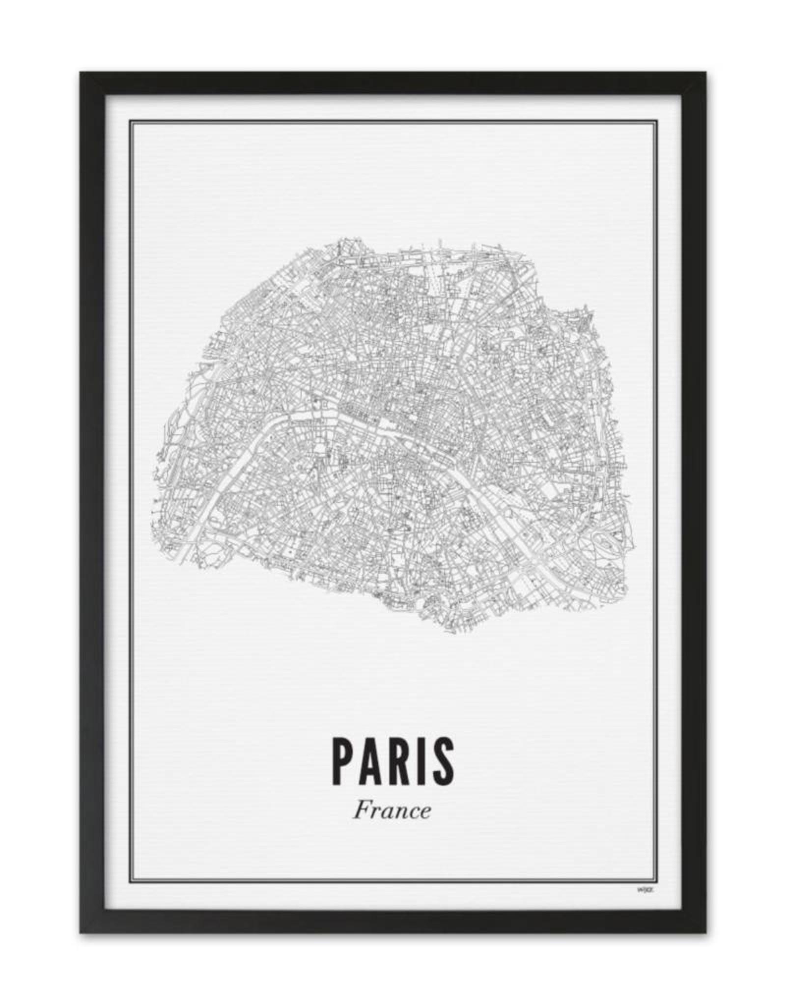 Wijck Wijck - prints - 30x40 - Paris city