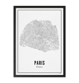 Wijck Wijck - prints - 30x40 - Paris city