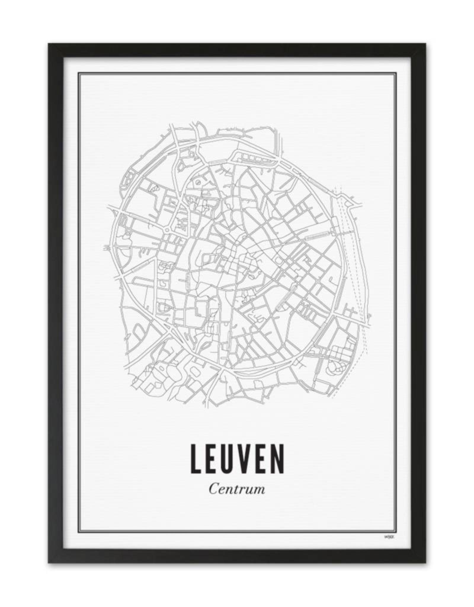 Wijck Wijck - prints - 50x70 - Leuven
