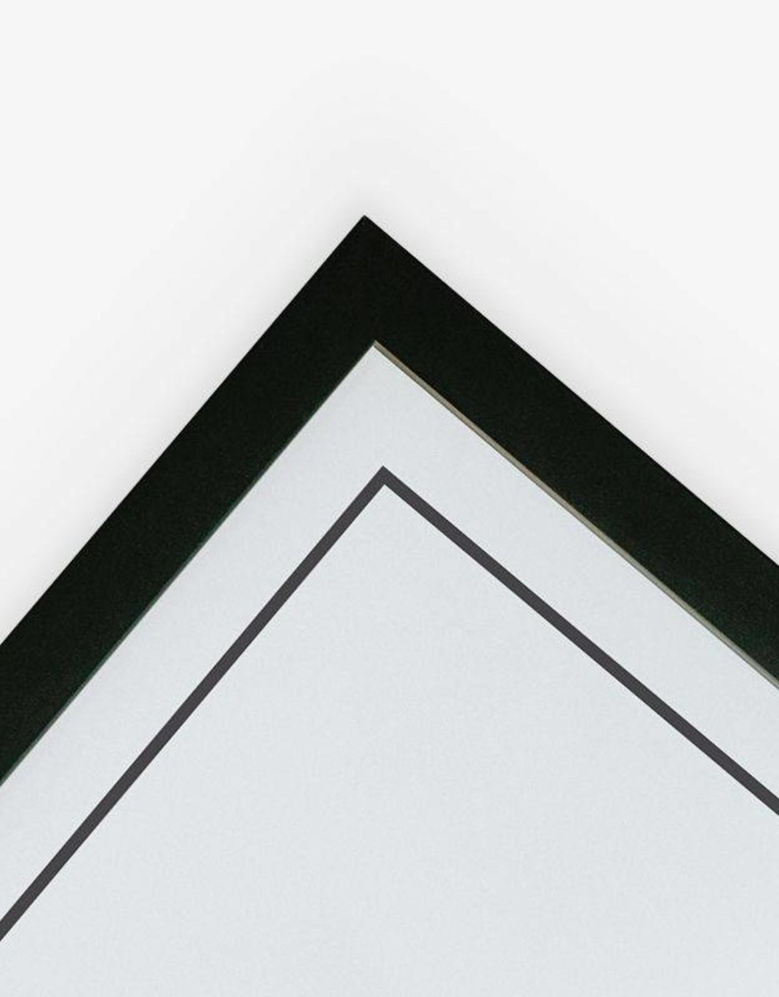Wijck Wijck - Kader - 40x50 - Black frame