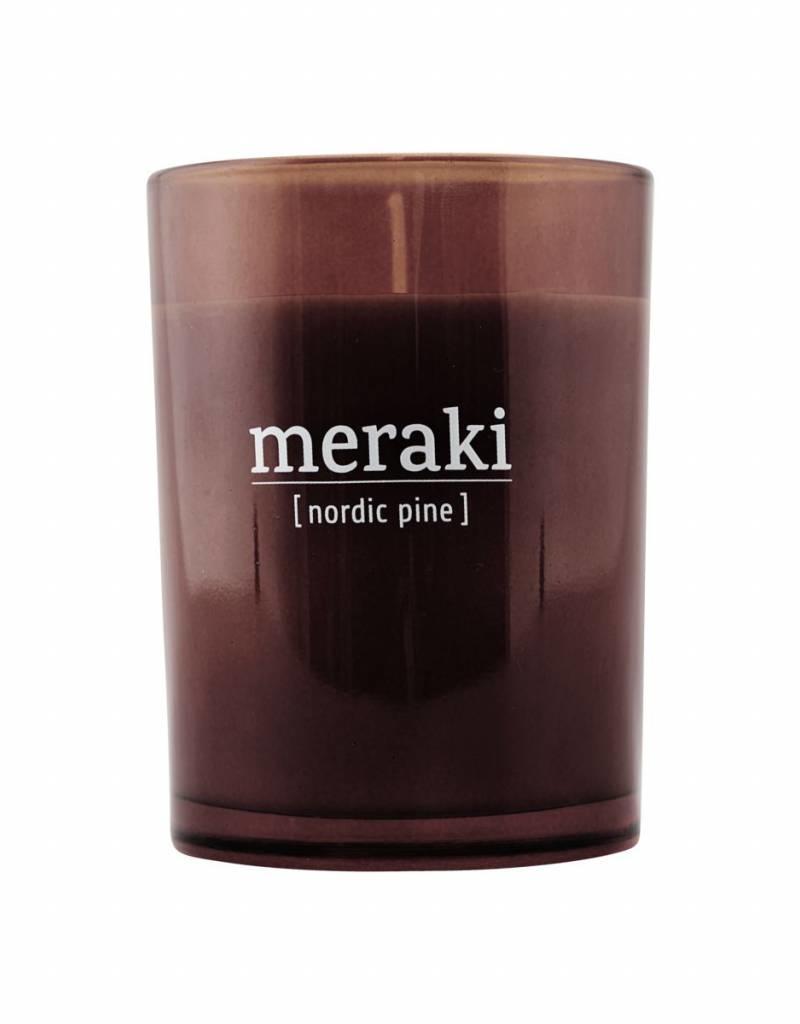 Meraki Meraki - Scented candle , Nordic Pine S