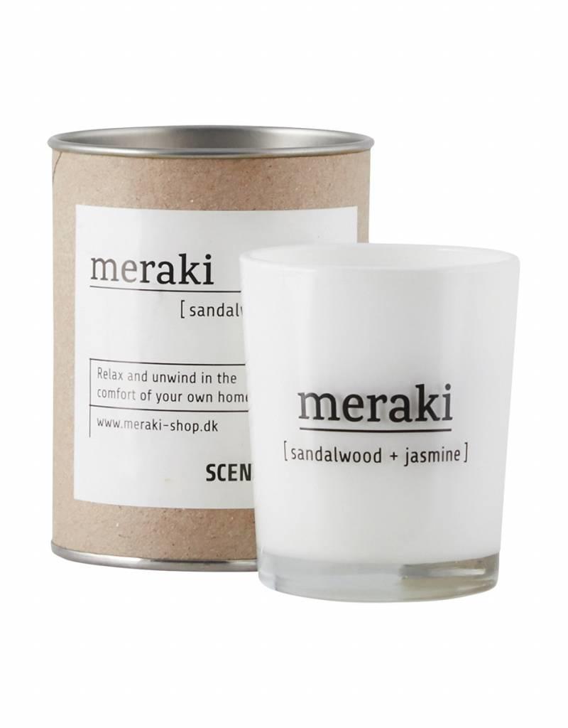 Meraki Meraki - Scented candle , Sandal wood & Jasmine S
