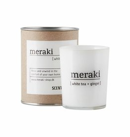 Meraki Meraki - Scented candle , White tea & ginger S