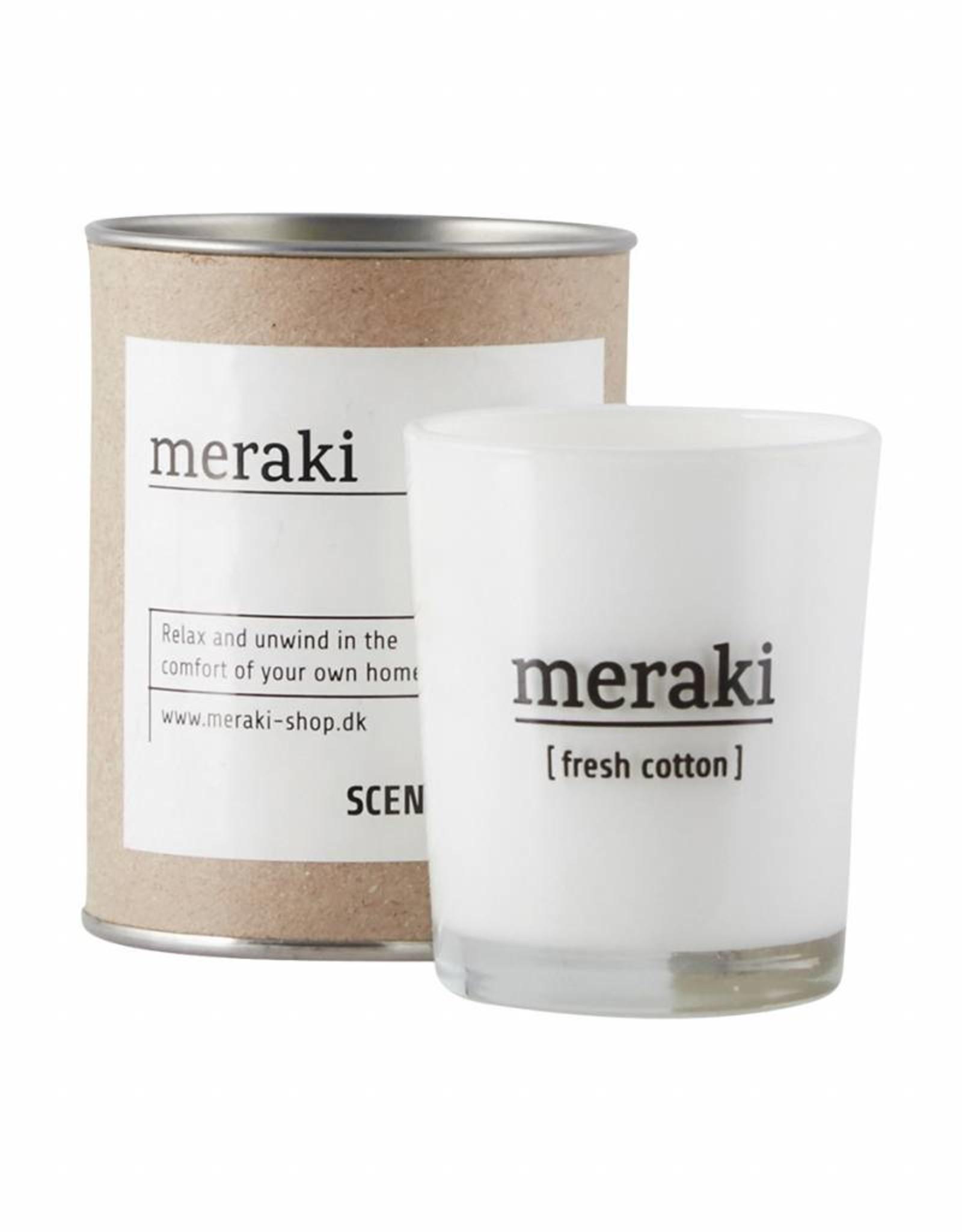 Meraki Meraki - Scendted candle , Fresh cotton  S