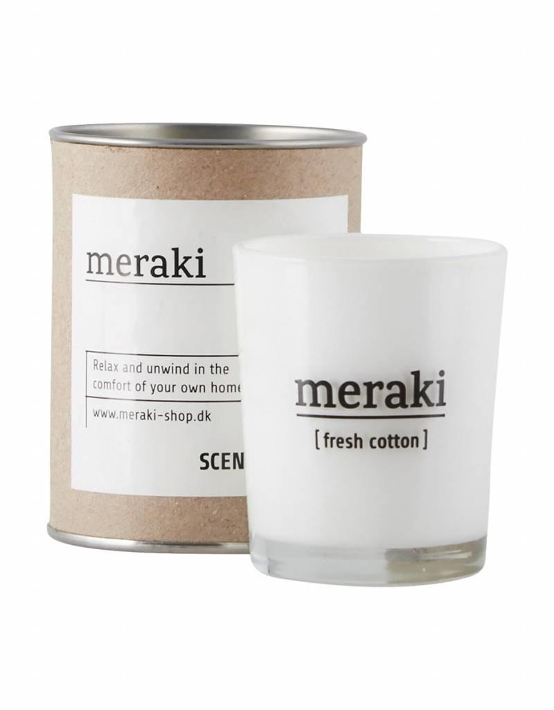 Meraki Meraki - Scendted candle , Fresh cotton  S