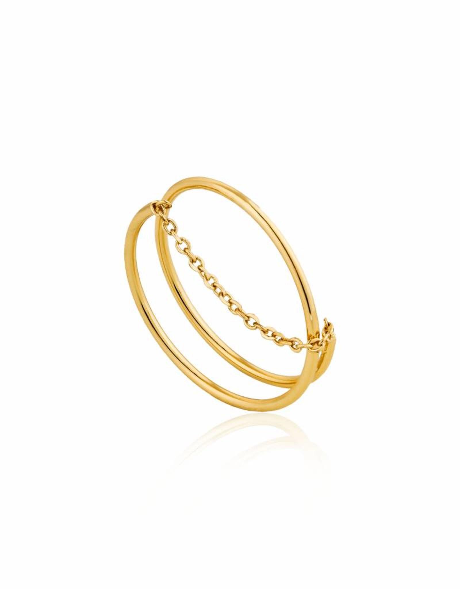 Ania Haie Ania Haie - Modern twist chain ring