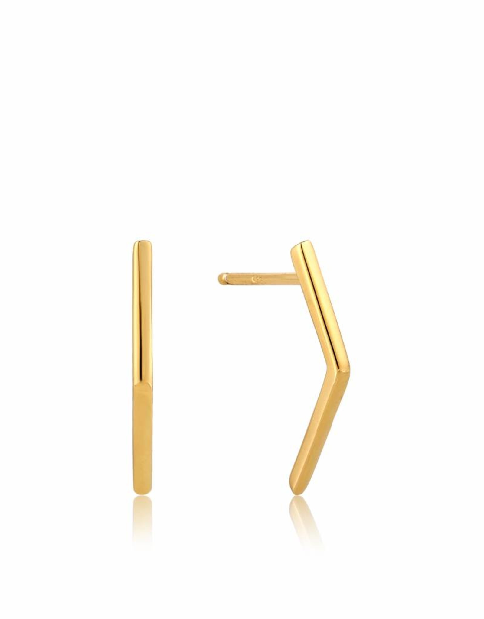 Ania Haie Ania Haie - Bar stud earring Gold